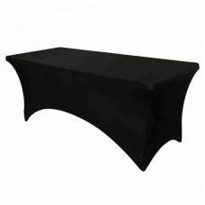 Стрейч чехол для прямоугольного стола, черный